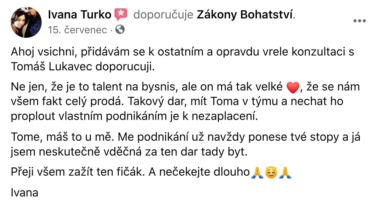 Reference - Ivana Turko