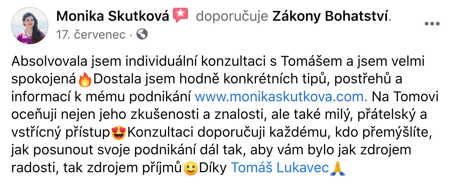 Reference - Monika Skutková