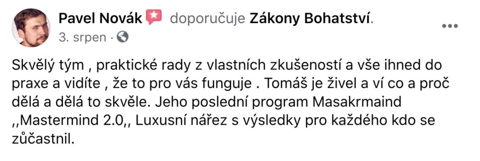 Reference - Pavel Novák