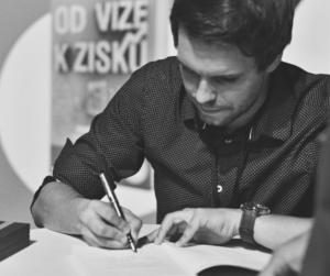 Tomáš Lukavec - podpisy knih